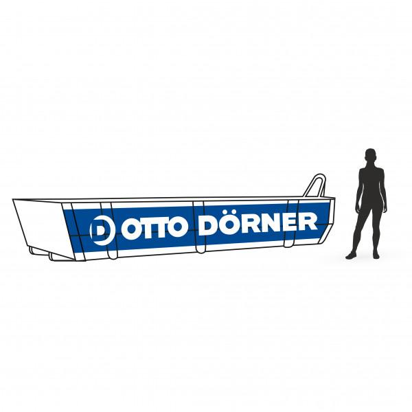 Abrollcontainer für Gipskarton in Rostock