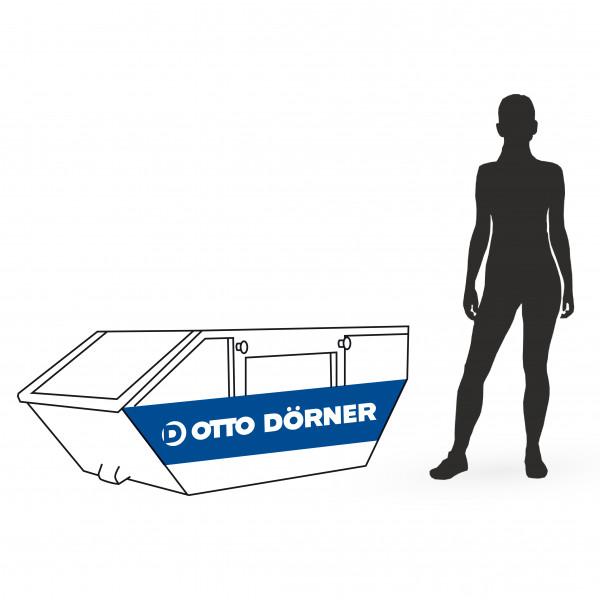 Absetzcontainer für Bauschutt in Hamburg Test